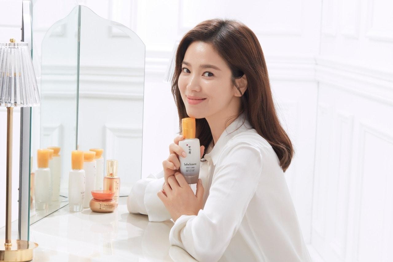 Awet Muda Dengan Formula Baru Serum Favorit Song Hye Kyo